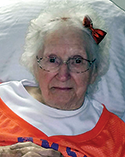 Dorothy Underwood James, age 86