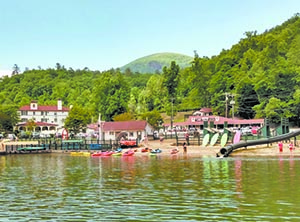Lake Lure beach open!
