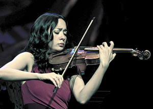 Violinist Lucia Micarelli program free for students