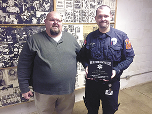 Whiteside named Rescue Employee of the Year