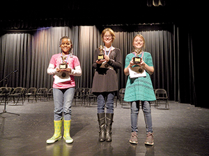 Breanna Cochran named District Spelling Bee Champ