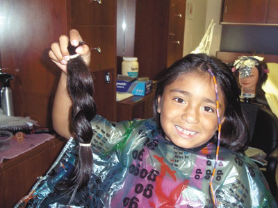 Isabella Herrera Donates Hair to Locks of Love