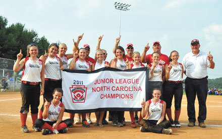 Forest City - Junior League NC State Champs