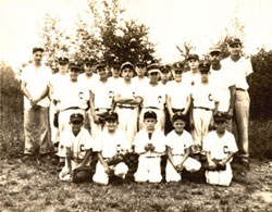 First Cliffside Little League Team... 1957 Cliffside Braves