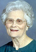 Martha Wallace Suttle, age 91