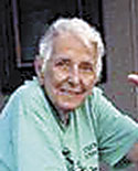 "Frances ""Jinx"" Carpenter, age 89"