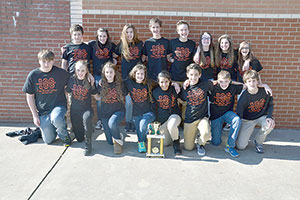 ERMS team wins District Quiz Bowl Challenge
