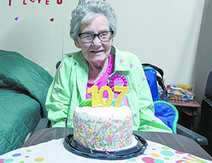 Mary Gladys Sams Turns 107!