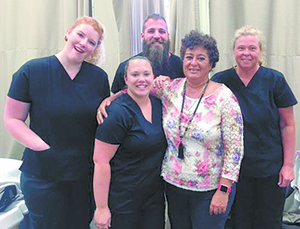 Students graduate from massage therapy program