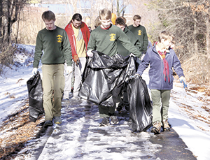 Rail Trail Clean Up