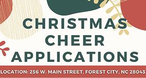 Christmas Cheer Center application process begins October 11
