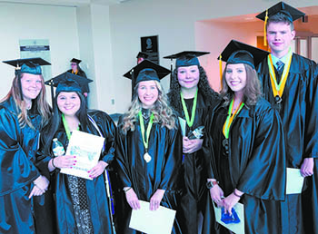 Isothermal Community College celebrates graduates outdoors