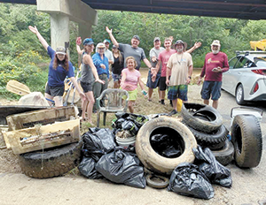 Annual Broad River Fall Sweep was a success