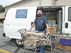 Gracious food partners help  those in need