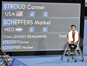 Conner Stroud is our Paralympics hero